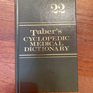 Other - Taber's Cyclopedic Medical Dictonary